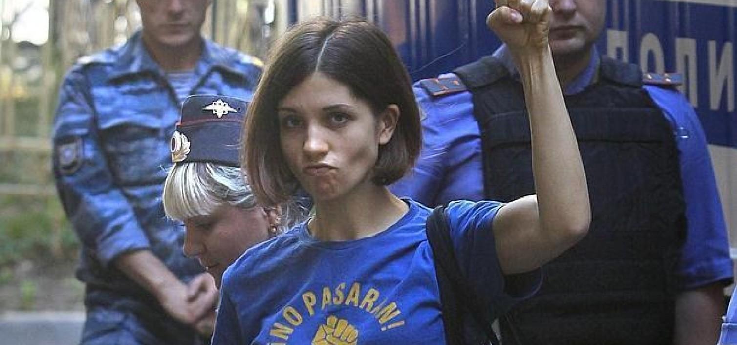 Líder de Pussy Riot permanecerá en el hospital hasta el final de su condena