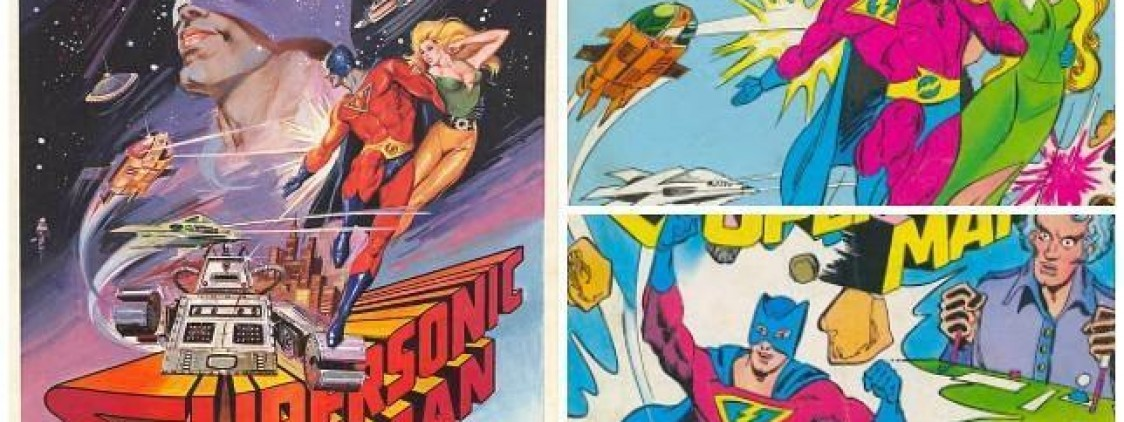 "Un cómic rescata a ""Supersonic Man"""