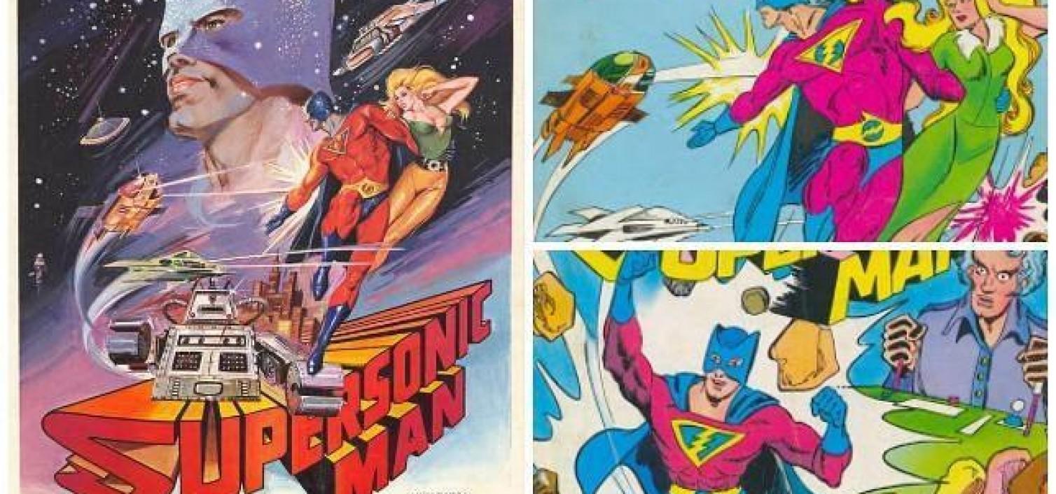 """Un cómic rescata a """"Supersonic Man"""""""