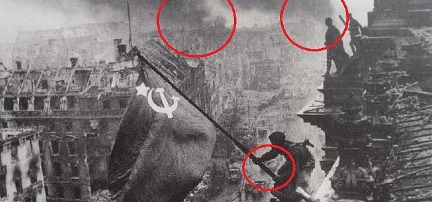 La increíble mentira soviética sobre la fotografía más famosa de guerra