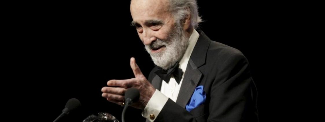 Muere a los 93 años Christopher Lee, célebre por sus papeles de Drácula, Saruman y Dooku