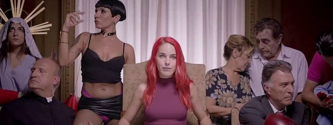 'Patria', el crítico spot del Salón Erótico de Barcelona protagonizado por Amarna Miller