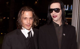 El trío de Johnny Depp en el nuevo (y escandaloso) videoclip de Marilyn Manson